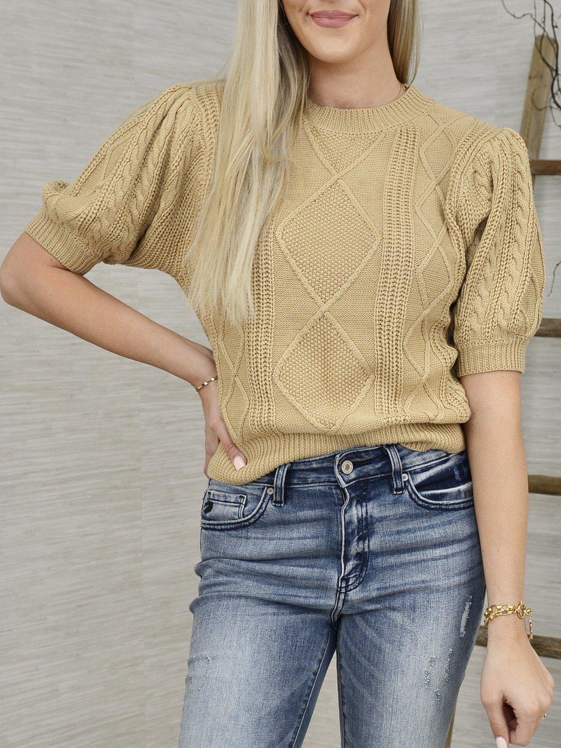 Cable Car Sweater-Women's -New Arrivals-Runway Seven