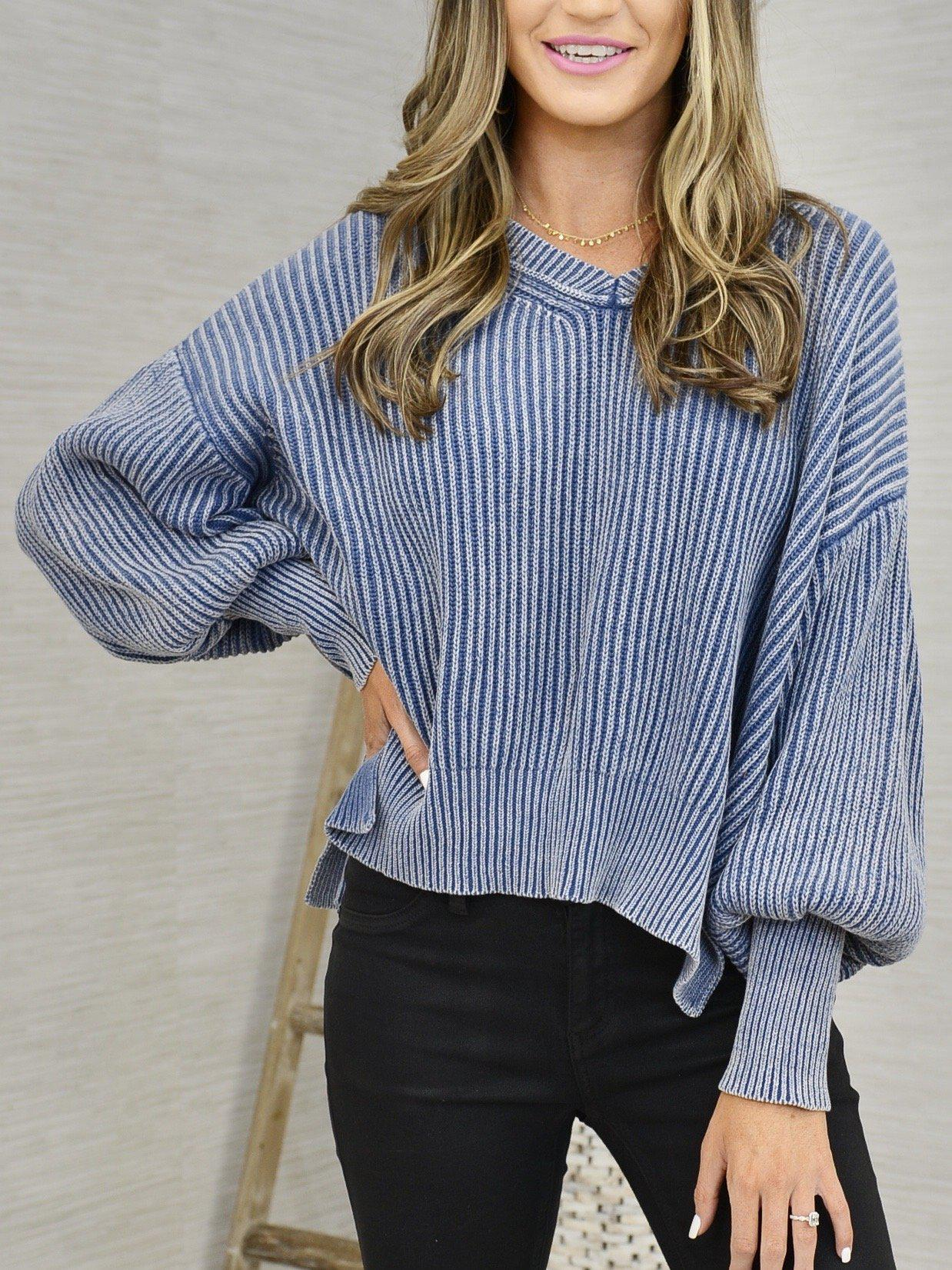 Washed to wear Sweater-Women's -New Arrivals-Runway Seven