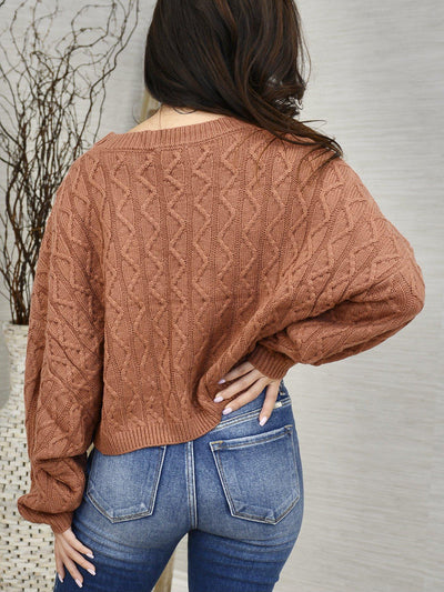 Nicely Spiced Sweater-Women's -New Arrivals-Runway Seven