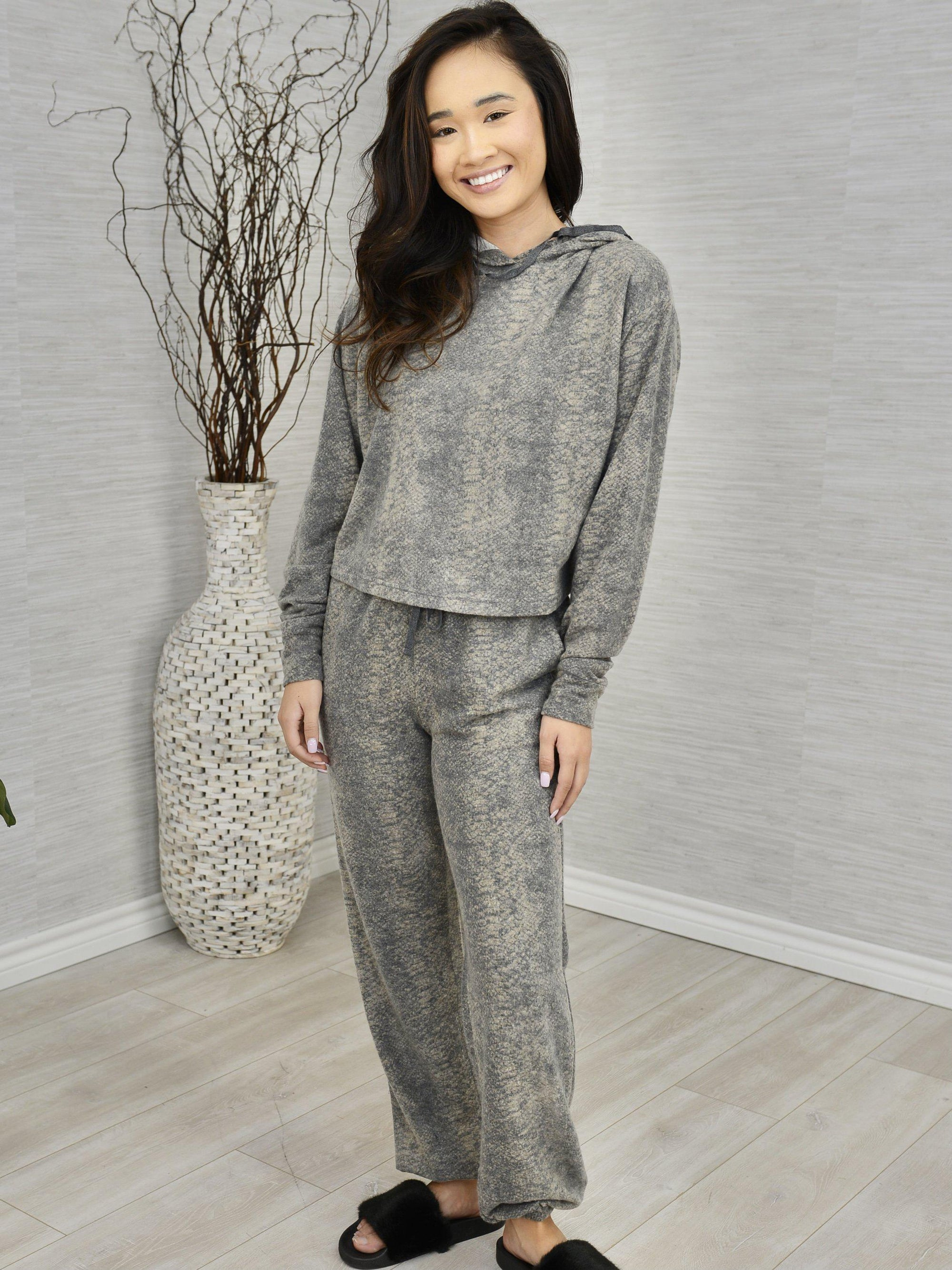 Forest Hike Loungewear Set-Women's -New Arrivals-Runway Seven
