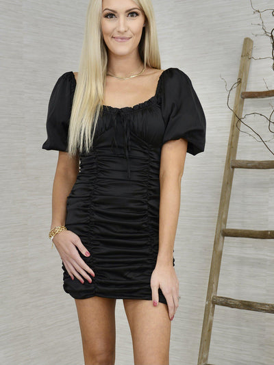 Shirred Thing Dress-Women's -New Arrivals-Runway Seven