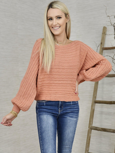 A Rose is a Rose Sweater-Women's -New Arrivals-Runway Seven