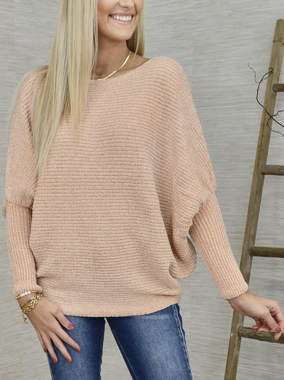 Honey of a Peach Sweater-Women's -New Arrivals-Runway Seven