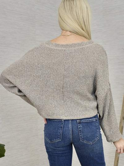 Add Mocha Sweater-Women's -New Arrivals-Runway Seven