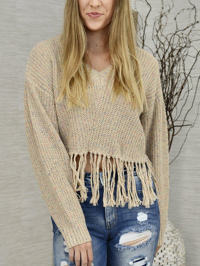 With Sprinkles on Top Sweater-Women's -New Arrivals-Runway Seven