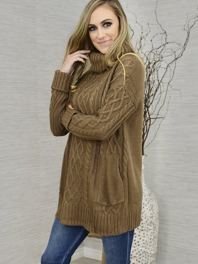 Tried and True Tunic Sweater-Women's -New Arrivals-Runway Seven