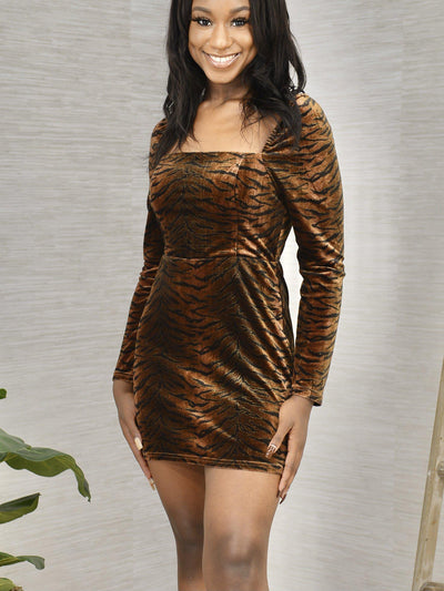 Eye of the Tiger Dress-Women's -New Arrivals-Runway Seven