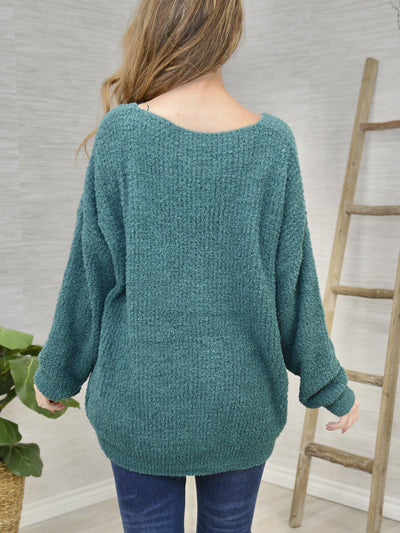 Teal the Show Sweater-Women's -New Arrivals-Runway Seven