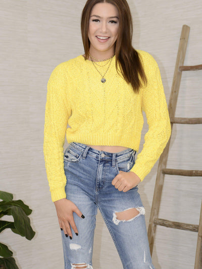Sunny Side Sweater-Women's -New Arrivals-Runway Seven