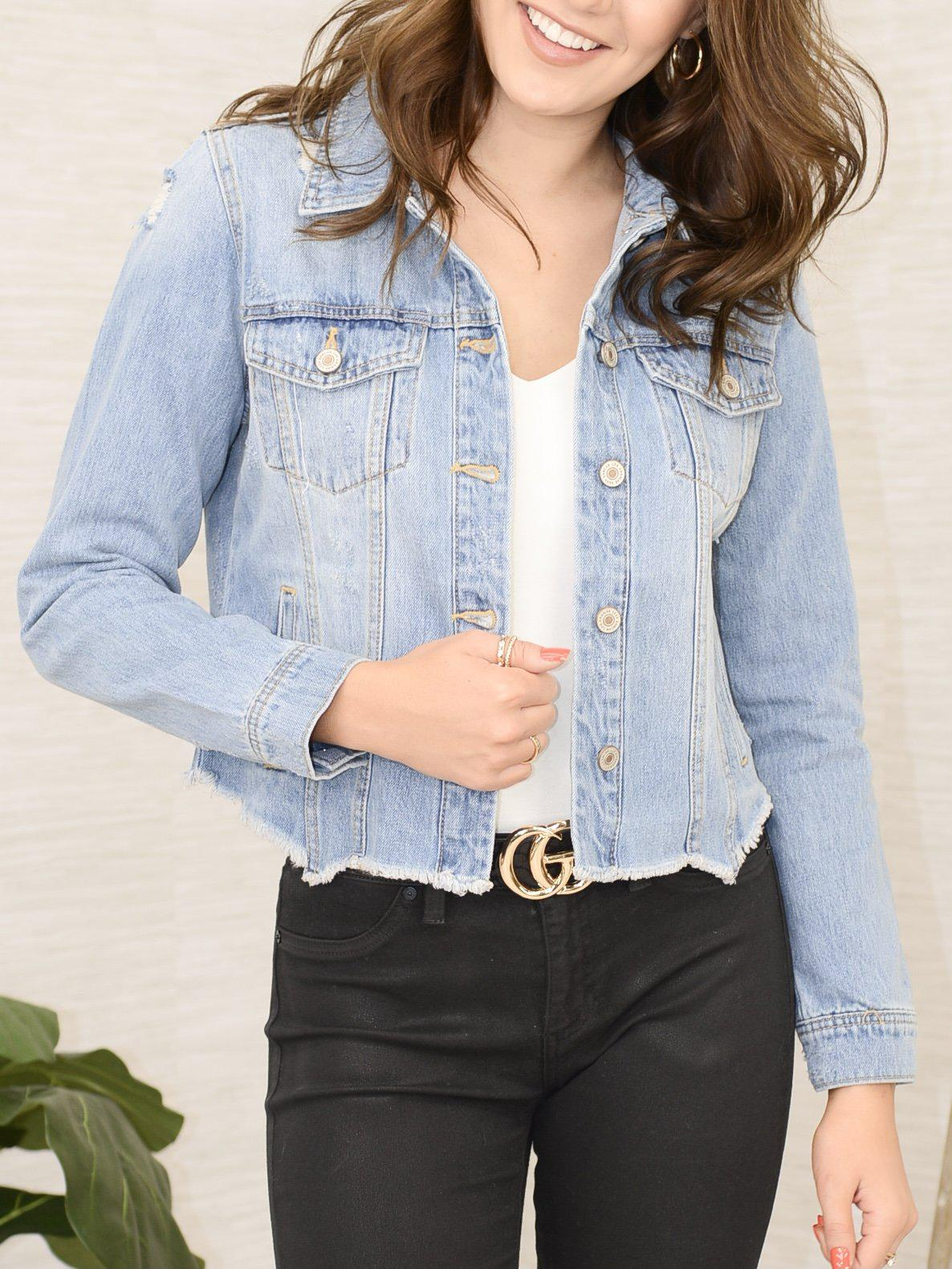 Do Denim Jacket-Women's -New Arrivals-Runway Seven