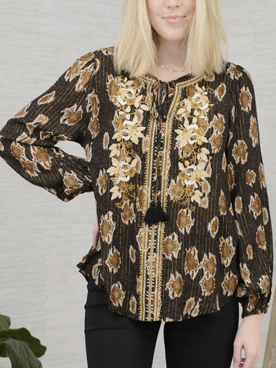 Pleasant Peasant Top-Women's -New Arrivals-Runway Seven