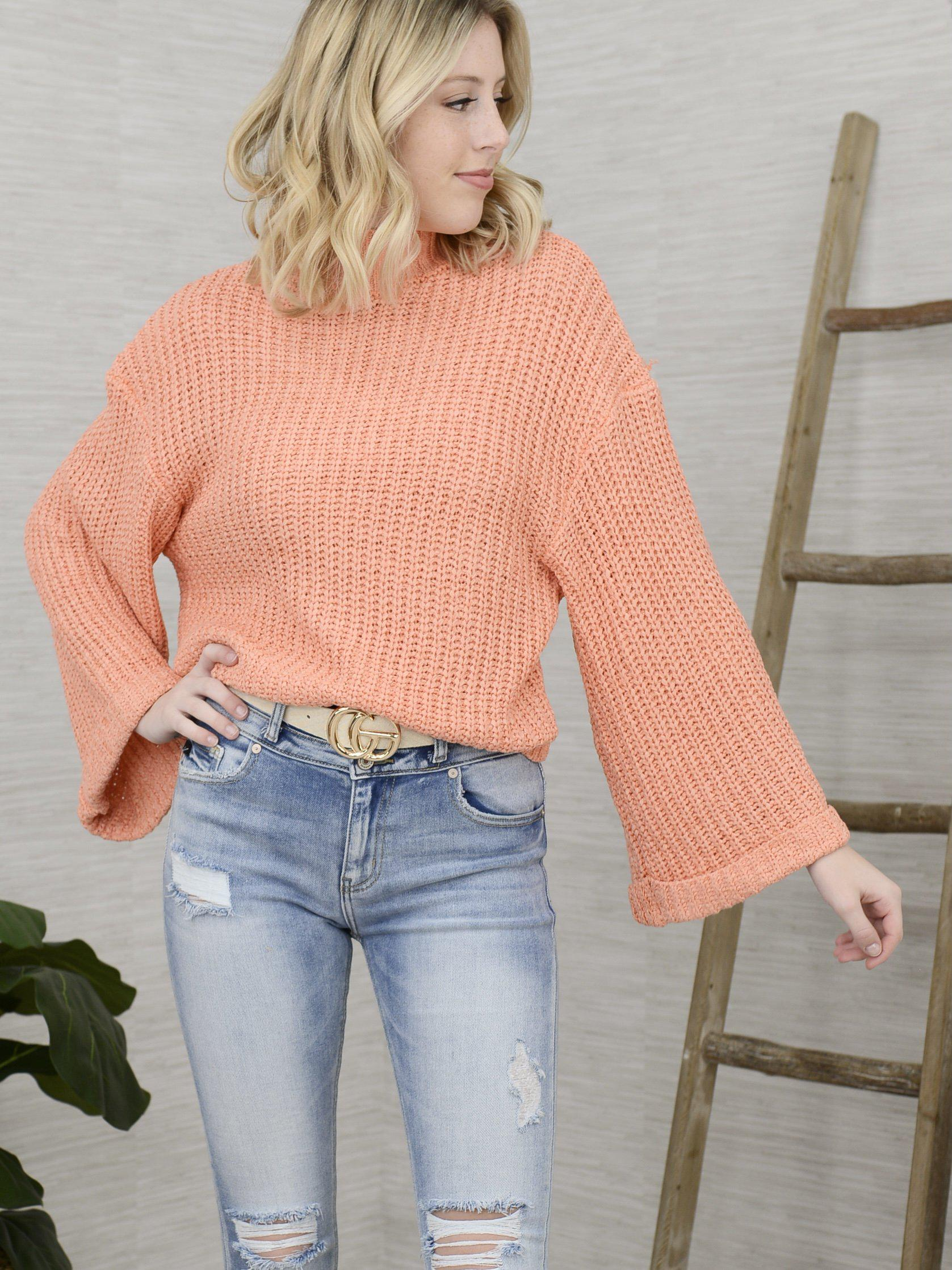 Simply Happy Sweater-Women's -New Arrivals-Runway Seven