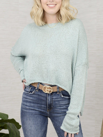 Slate Up Cute Sweater-Women's -New Arrivals-Runway Seven