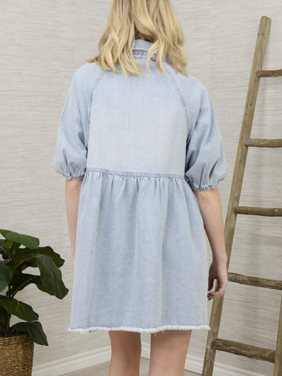 Let's Do Denim Dress-Women's -New Arrivals-Runway Seven