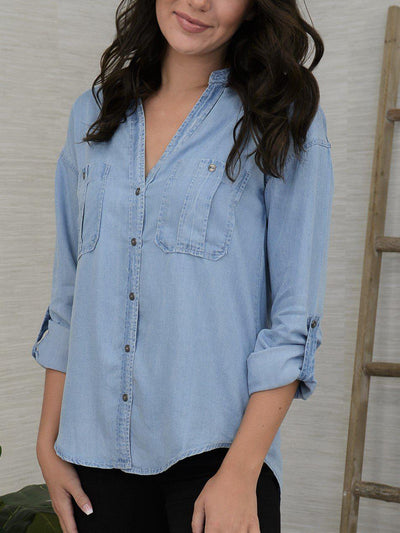 Denim Daze Top-Women's -New Arrivals-Runway Seven