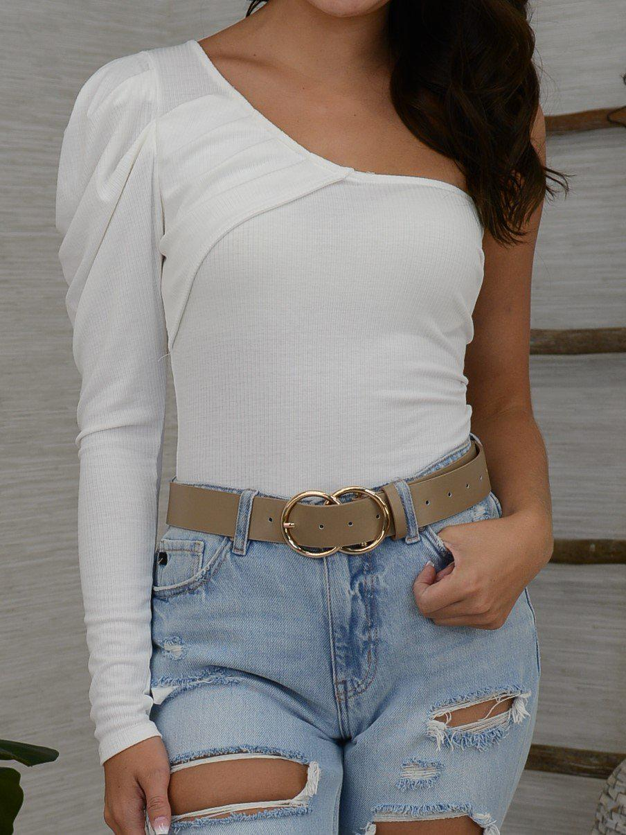 Styled so right Bodysuit - Ivory-Women's -New Arrivals-Runway Seven