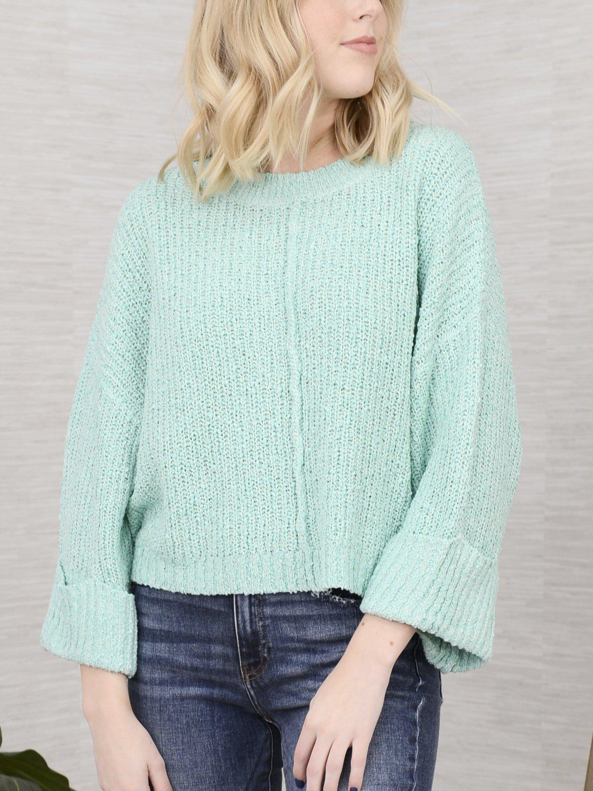 Ribbed and Ready Sweater-Women's -New Arrivals-Runway Seven