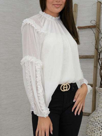 In the Details Top-Women's -New Arrivals-Runway Seven