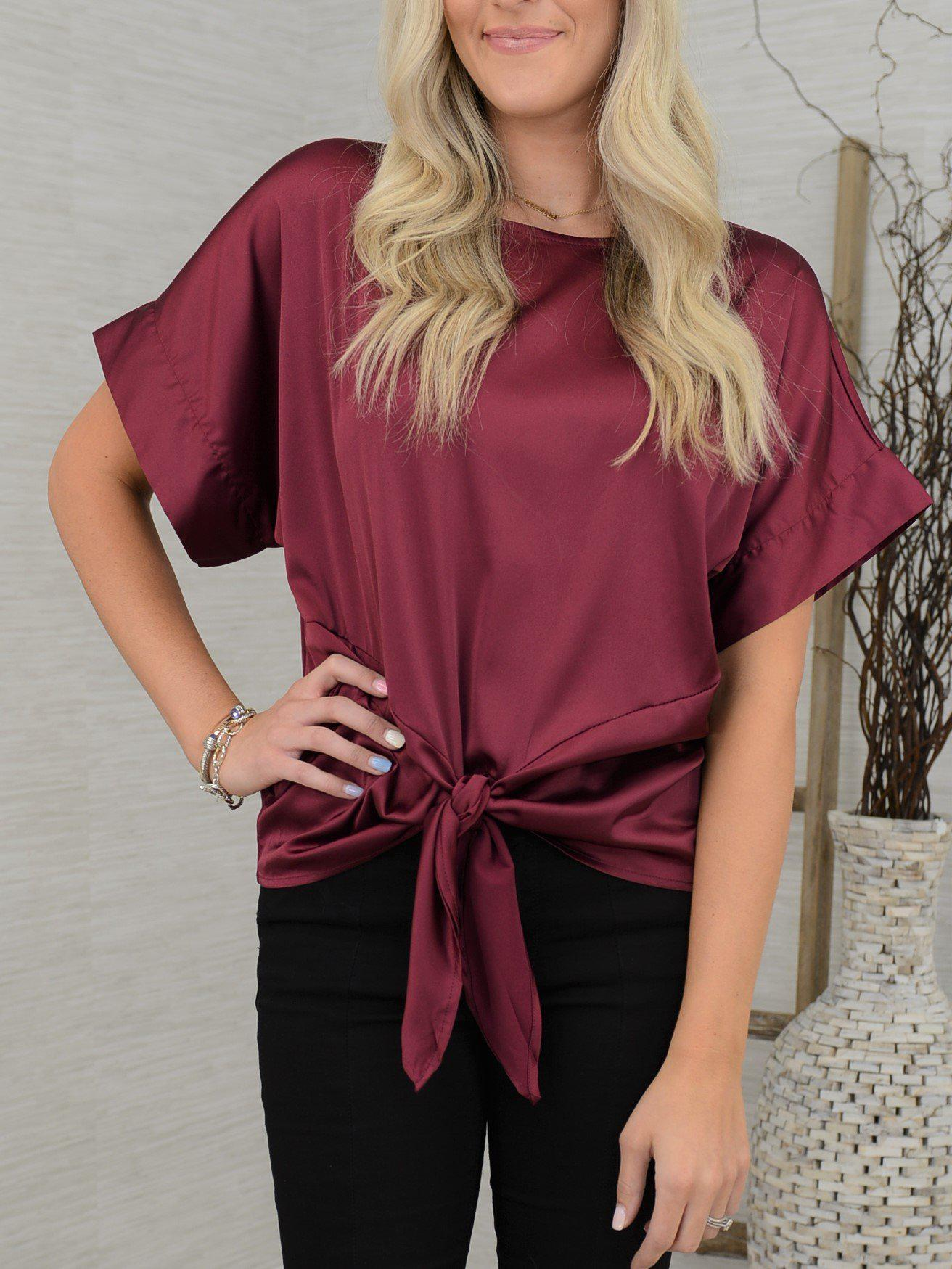 Mine with Wine Top-Women's -New Arrivals-Runway Seven