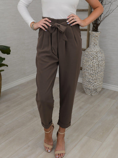 Waist Not Pants-Women's -New Arrivals-Runway Seven