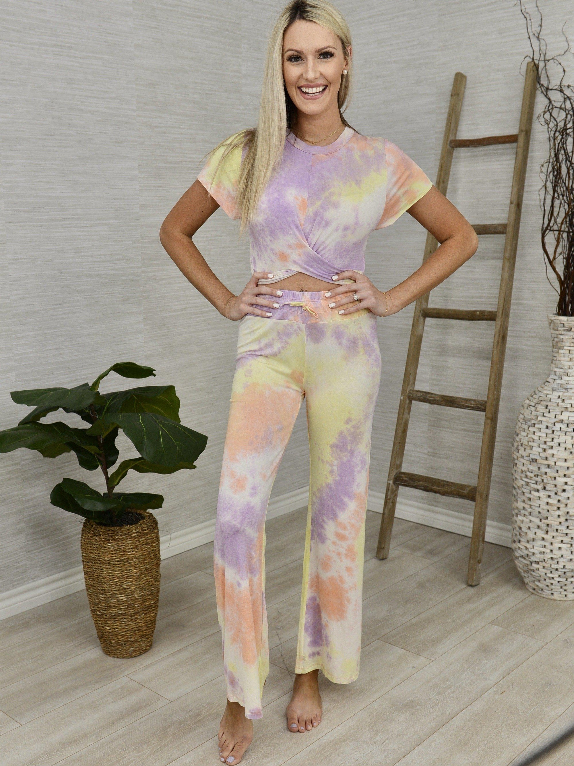Dyed Right Lounge Set-Women's -New Arrivals-Runway Seven