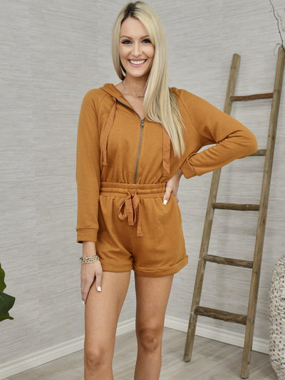 Cooler Breeze Lounge Romper-Women's -New Arrivals-Runway Seven