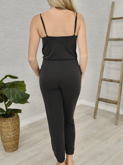 New Classic Knit Jumpsuit-Women's -New Arrivals-Runway Seven