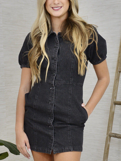 Denim Obsessed Dress-Women's -New Arrivals-Runway Seven