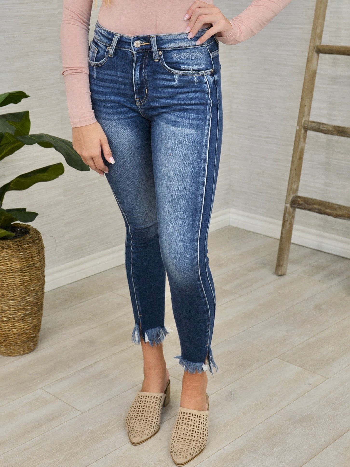Vertical Accents Jean