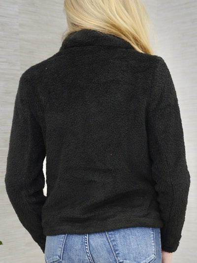 Fuzzy Warm Jacket-Women's -New Arrivals-Runway Seven