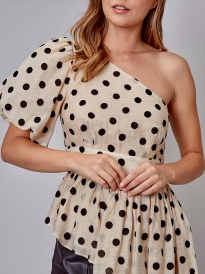 Dot, Dot, Dash Top-Women's -New Arrivals-Runway Seven - Women's Clothing Boutique