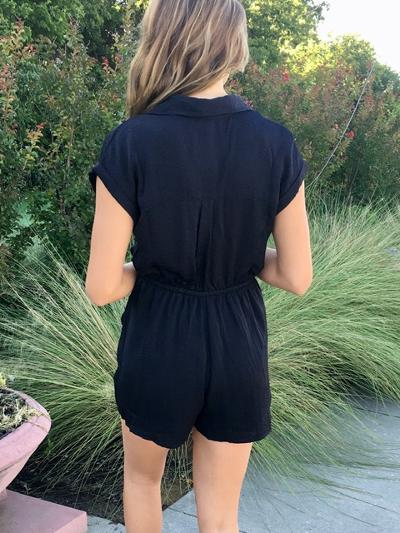 Front and Center Romper-Women's -New Arrivals-Runway Seven