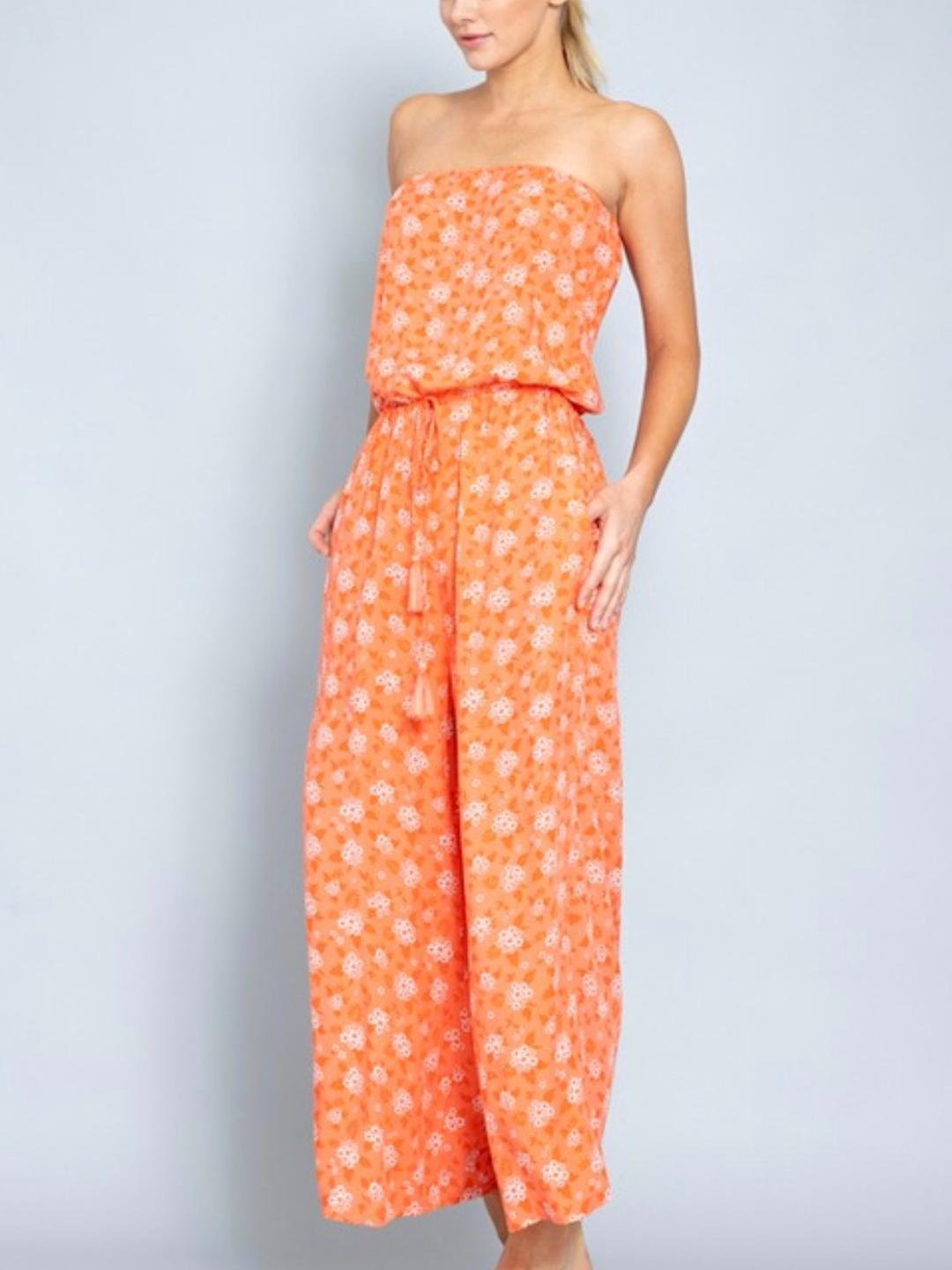 Hilton Head Resort Jumpsuit-Women's -New Arrivals-Runway Seven