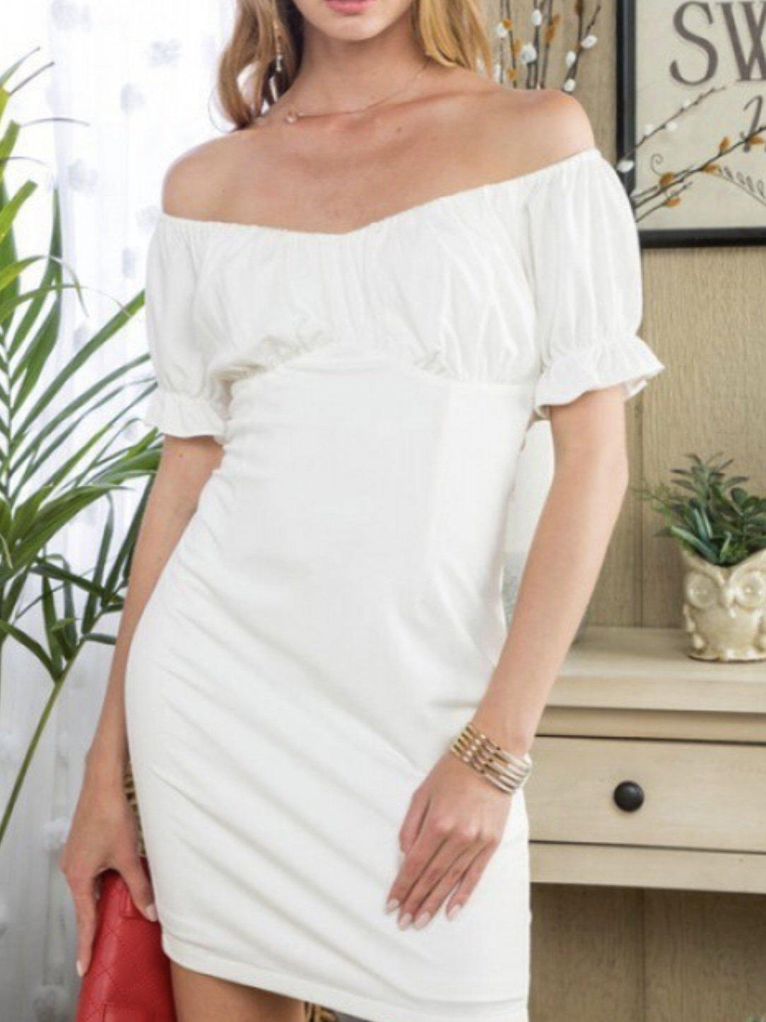 WHITE HEAT DRESS-Women's DRESS-New Arrivals-Runway Seven