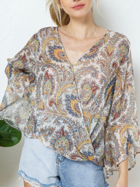SHEER JOY TOP-Women's TOP-New Arrivals-Runway Seven