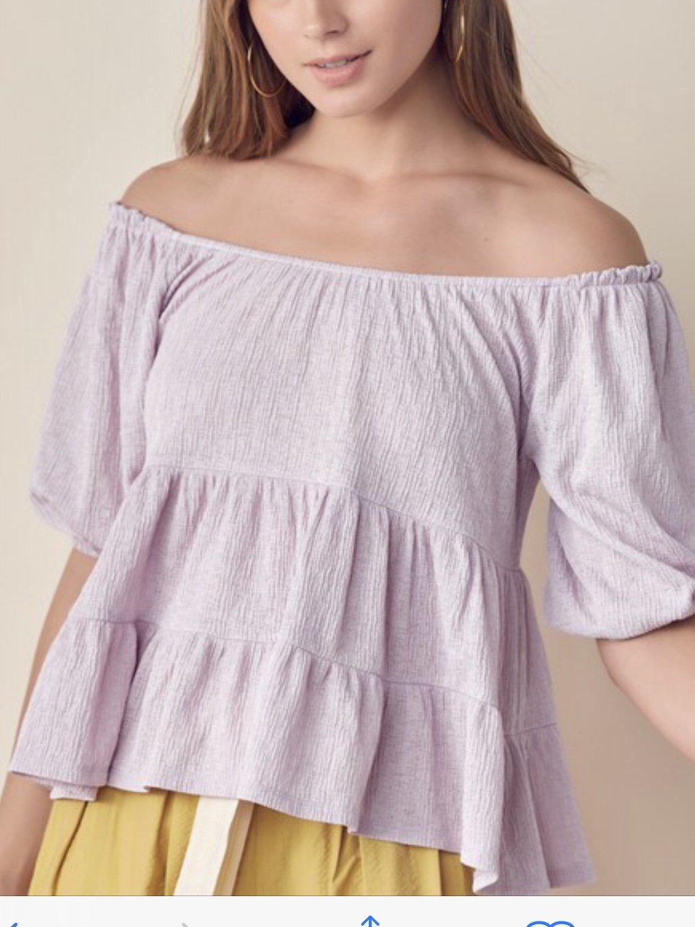 FRAGRANT AIR TOP-Women's TOP-New Arrivals-Runway Seven