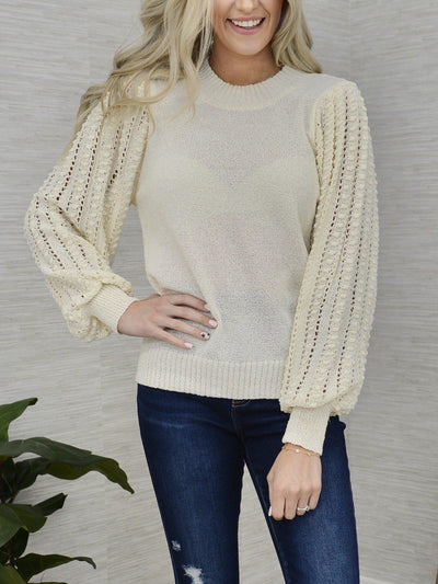 Up My Sleeve Sweater-Women's -New Arrivals-Runway Seven