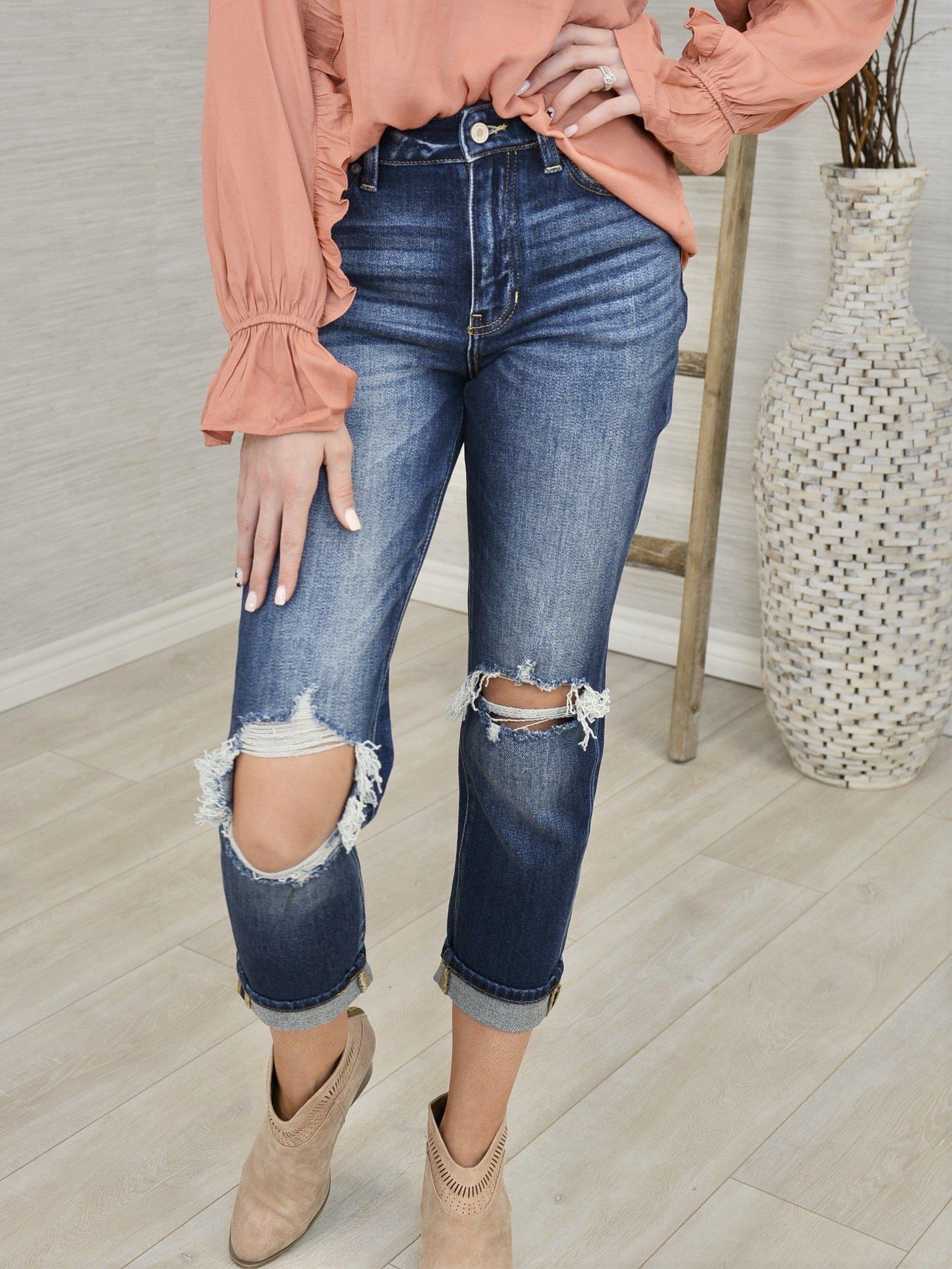 Sky High Mom Jeans-Women's -New Arrivals-Runway Seven
