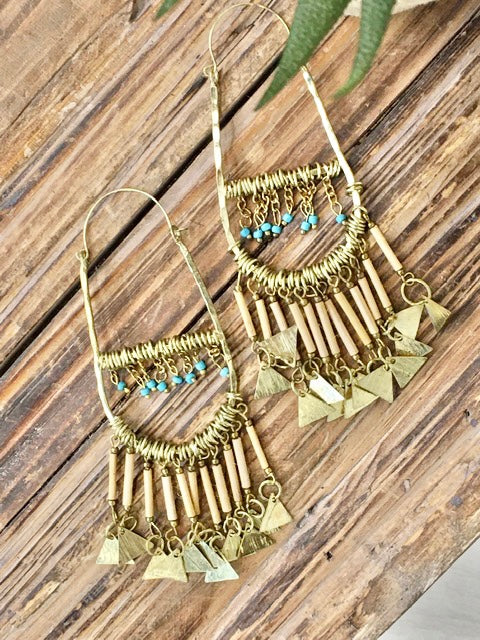 Enough Said Earring-Women's -New Arrivals-Runway Seven