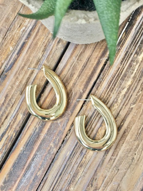 Hook and Line Earrings-Women's -New Arrivals-Runway Seven