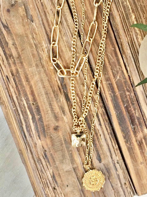 Lots of Layers Necklace-Women's -New Arrivals-Runway Seven