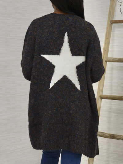 Star Bright Cardigan Sweater-Women's -New Arrivals-Runway Seven