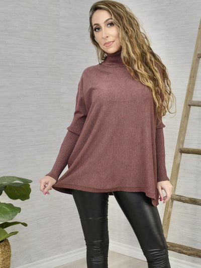 Plum Right Sweater-Women's -New Arrivals-Runway Seven