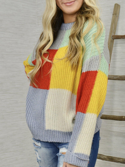 Block On Sweater-Women's -New Arrivals-Runway Seven
