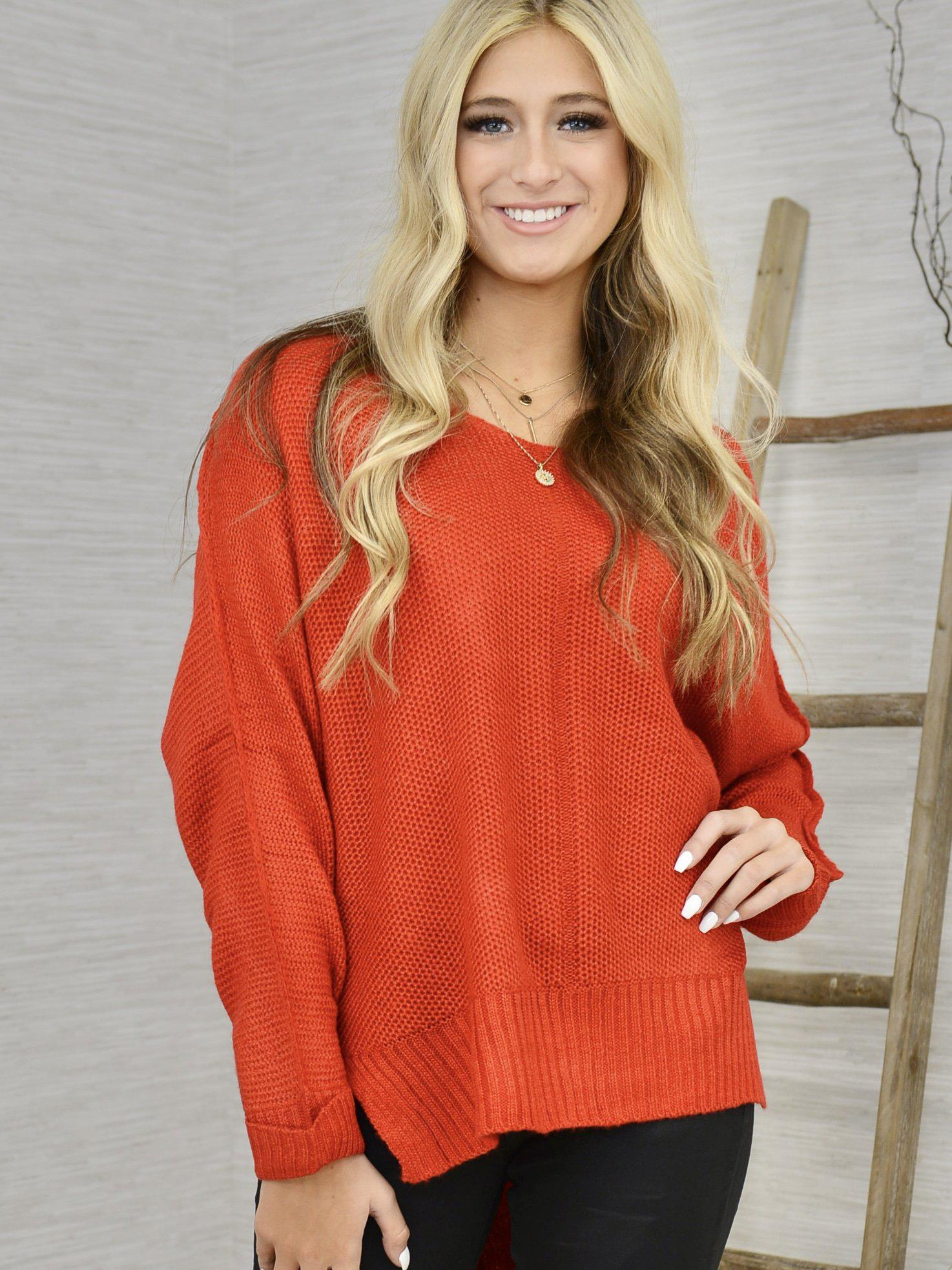 Holiday Bonus Sweater-Women's -New Arrivals-Runway Seven