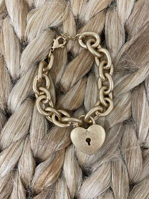 Key to My Heart Bracelet-Women's -New Arrivals-Runway Seven - Women's Clothing Boutique
