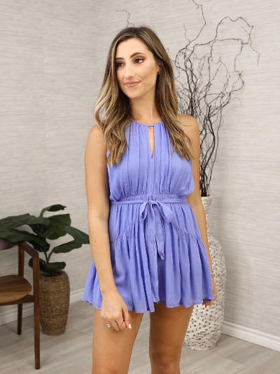 Bluebonnet Romper-Women's -New Arrivals-Runway Seven