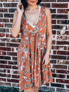 Pretty In Paisley Dress-Women's -New Arrivals-Runway Seven