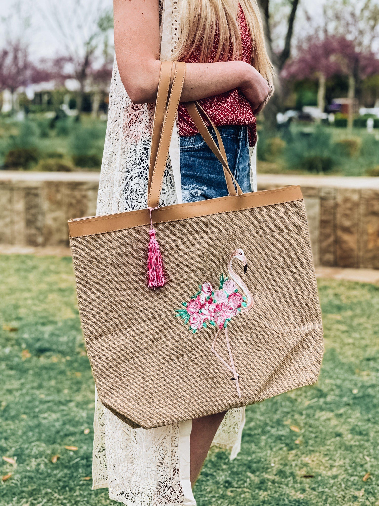 Time to Flamingle Tote
