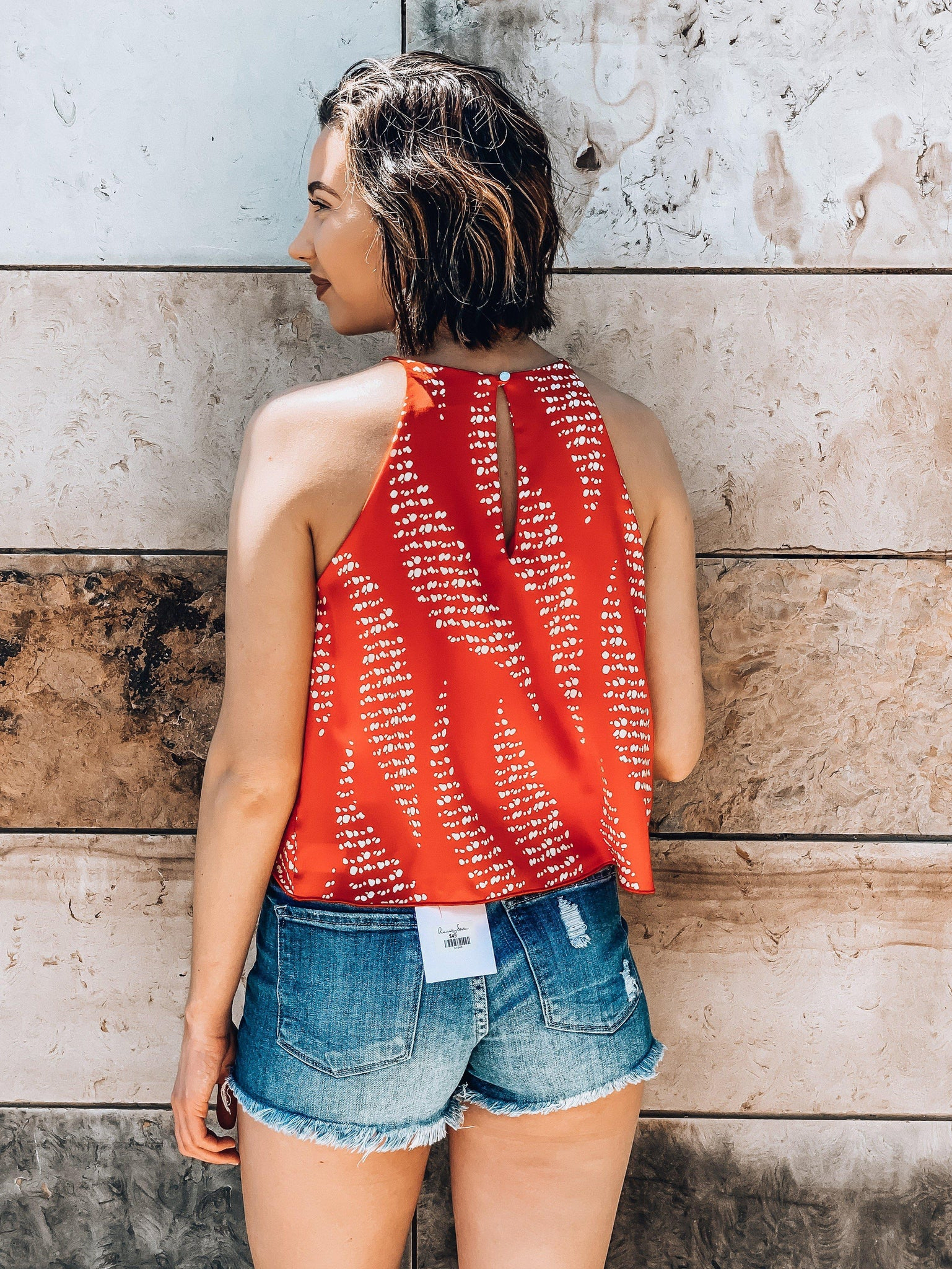 Luau Or Bust Top